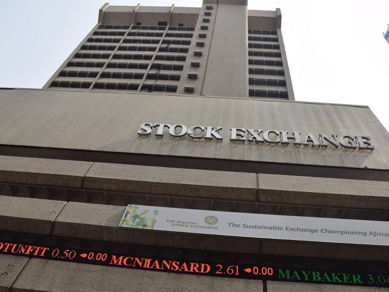 Nigerian stock market suffers N393bn loss