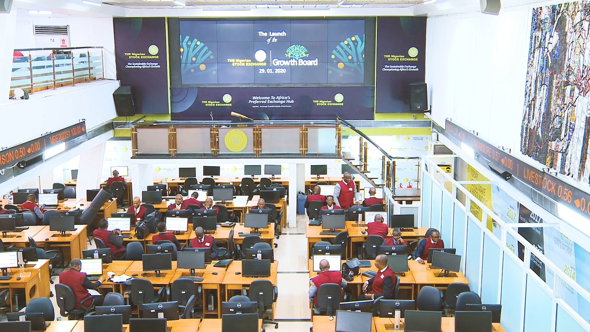 See the new NSE trading floor