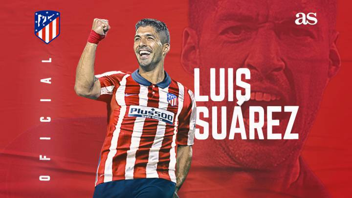 Atletico Madrid confirm signing Luis Suarez from Barcelona