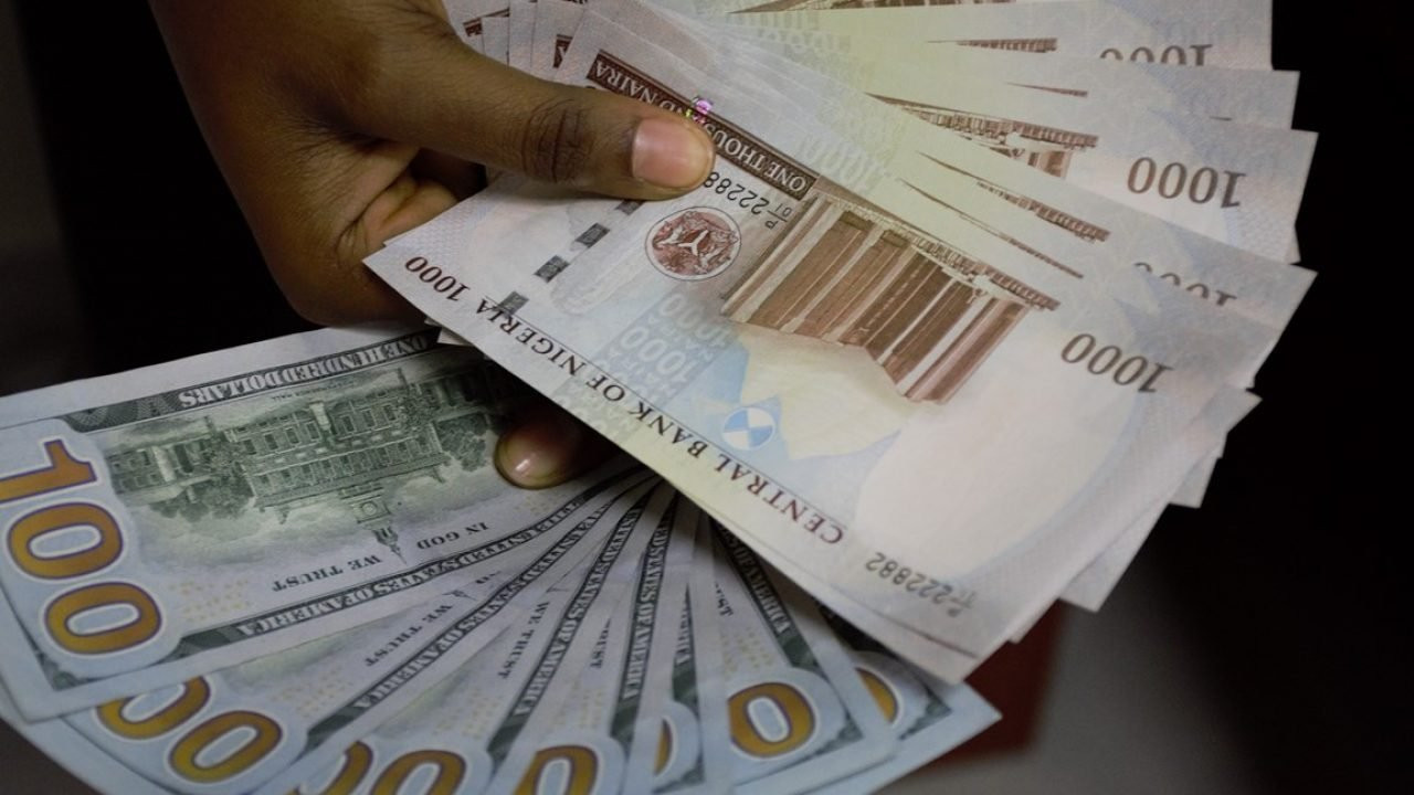 Naira appreciates marginally at black market, exchanges $/N485