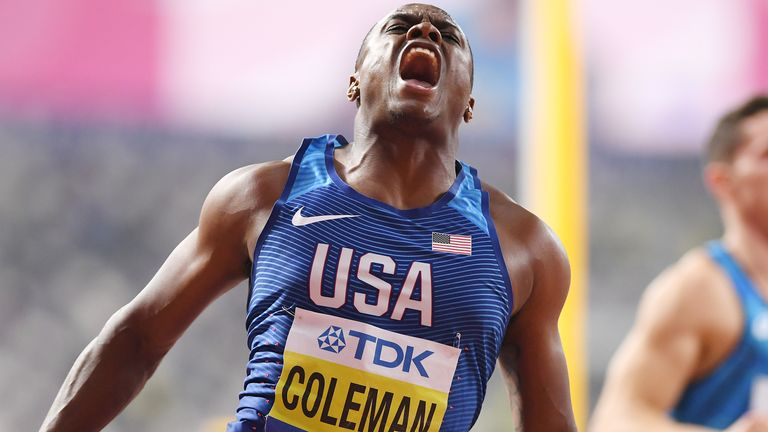 World 100m champion, Coleman, banned for two years
