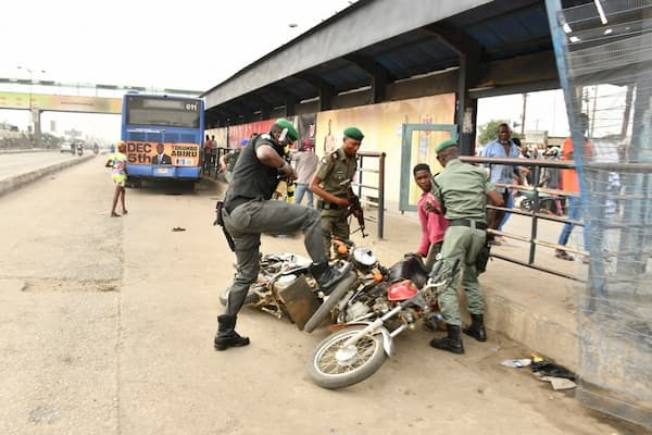 Lagos Taskforce impounds 130 motorcycles operating in restricted areas
