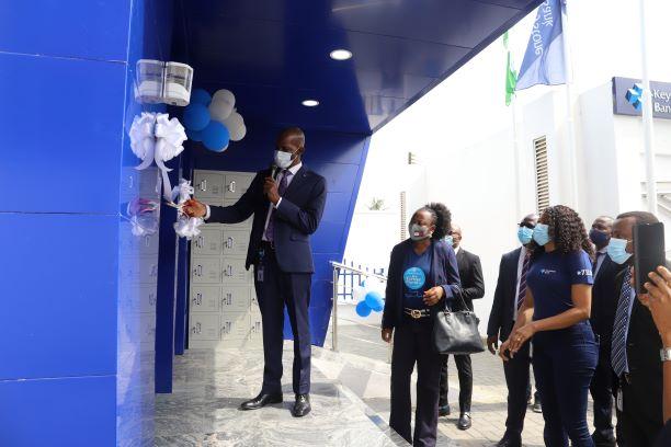 Keystone Bank reopens revamped Ikotun, Lagos branch