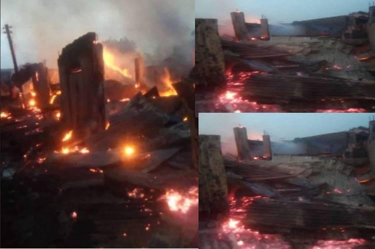 Fire guts Gusau Tudun/Wada Market in Zamfara
