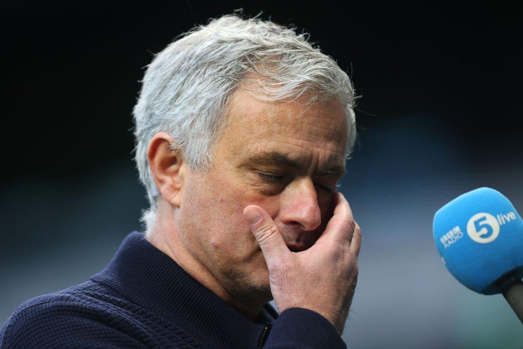 Breaking: Tottenham sack Mourinho after 17 months