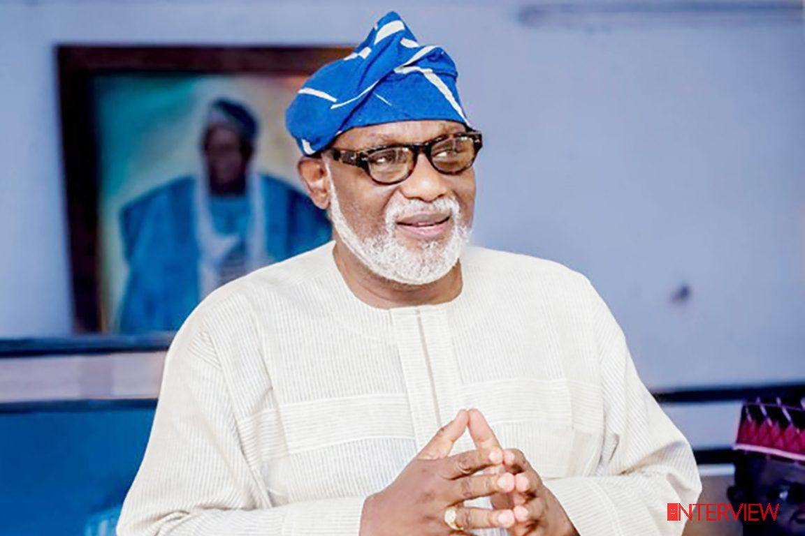 Akeredolu applauds increase in state IGR