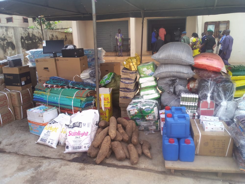 FG provides relief items to disaster victims in Ekiti