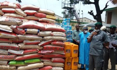 Customs seizes goods worth over N40bn