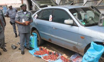 Nigeria Customs intercepts live cartridges