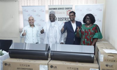 """LG Electronics donates """"new Artcool"""" air conditioning units to Wuse District Hospital Hospital Abuja"""