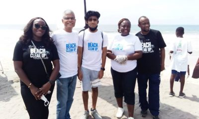World Clean Up Day: Sterling One Foundation adopts year-long cleaning of two beaches