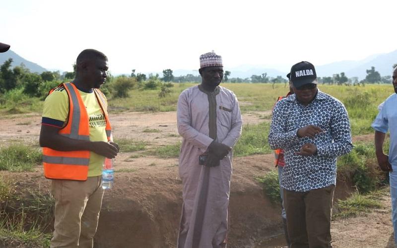 NALDA receives more land, begins rice harvest in Adamawa