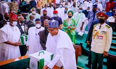 President Buhari presents N16.3trn budget proposal for 2022