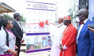 Seplat Energy commissions power supply to Oben Cottage Hospital